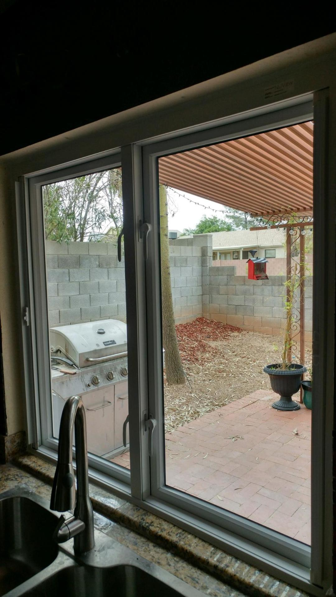 Twin casement replacement windows